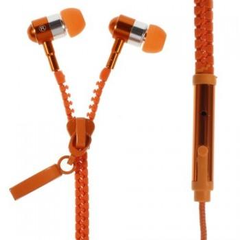 Zipper Øreplugger m/Mikrofon Orange