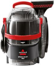 Bissell Spotclean Pro Dampvasker - Svart/rød