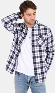 Superdry Rookie Ridge Skjorte Broken Twill White