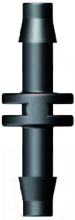Aquaforte Hulpstukjes voor 4MM luchtslang recht 4 x 4mm tule