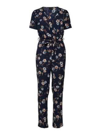 ONLY Printed Jumpsuit Women Blue
