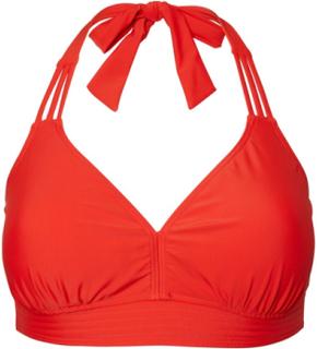 JUNAROSE Halterneck Badetøj Kvinder Rød