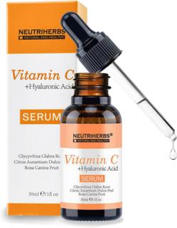 Neutriherbs Vitamin C + Hyaluronic Acid Skin Serum