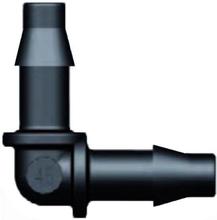 Aquaforte Hulpstukje voor 4MM luchtslang knie 4 x 4mm tule