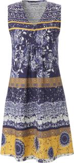 Ærmeløs kjole i 100% bomuld Fra Green Cotton blå