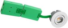 NVC Arden 40 Firkantet Innbygningsspot Utendørs 6W/927 LED, Hvit
