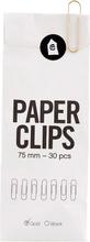 Monograph - Office Gem 7,5cm 30-pakk, Gull