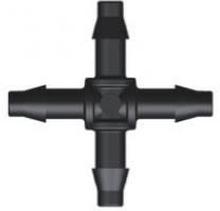 Aquaforte Hulpstukje voor 4MM luchtslang Kruisstuk 4 x 4mm tule