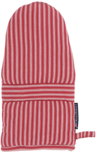 Lexington - Striped Mitten, White/Red