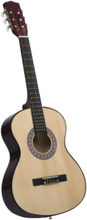 """Klassisk gitar for nybegynnere med veske 3/4 36"""" - lys brun"""