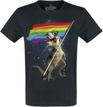 Goodie Two Sleeves - Rex Pride -T-skjorte - svart