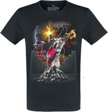 Goodie Two Sleeves - Heavy Metal Cat -T-skjorte - svart
