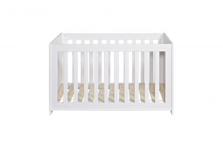 WOOOD New life cot pine brushed white