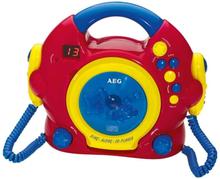 Aeg Sjung Med-cd-spelare Cdk 4229 Röd Flerf\u00e4rgsdesign