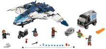 LEGO Super Hero - Kostajien kaupunkitakaa-ajo Quinjetillä (lego 76032)