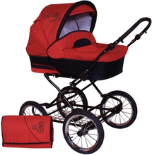 Nelly Duo 3 in 1 Barnvagnar - Village Red
