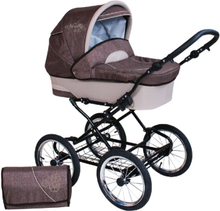 Nelly Duo 3 in 1 Barnvagnar - Denim Brown