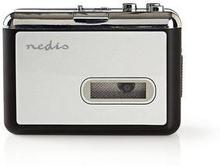 Nedis Bärbar USB-konverterare för kassett till MP3 | med USB-kabel och programvara