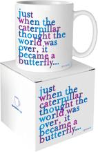Quotable Mug Caterpillar