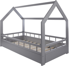 PQP - Hussäng med skyddskant 160x80 cm - Vit