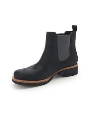 Chelsea-boots 'Elaine' Fra Ecco sort - Peter Hahn