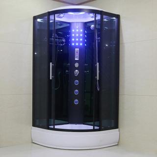 Premium duschkabin - datorpanel, massage, belysning, bluetooth