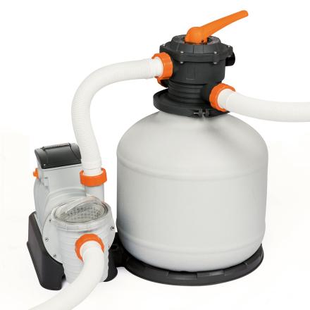 Bestway Flowclear sandfilterpump till ovanmarkpool - 1100-66600 liter