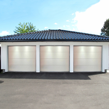 Garageport med fjärrstyrning - 2400x2125mm | Vit