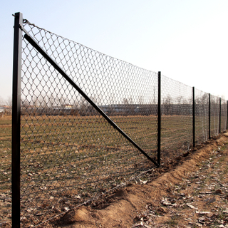 Villastängsel - komplett paket med 25 meter staket, höjd 1,2m
