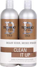 B for Men Clean Up Tweens Duo, 750ml TIGI Bed Head Paketit
