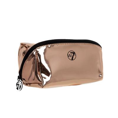 W7 Metallic Rose Gold Cosmetic Bag 1 stk