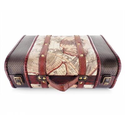 Dear Barber Dear Barber Vintage Wooden Suitcase Small 1 kpl 1 kpl