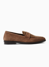 Tan 'Hawley Penny' Loafers