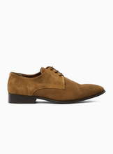 Tan 'Jasper' Suede Derby Shoes