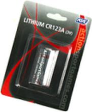 Batteri 3V Lithium CR123A