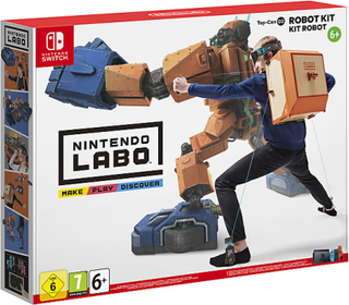 Spel till Nintendo Switch, Toy-Con 02: Robot Kit, Nintendo Labo