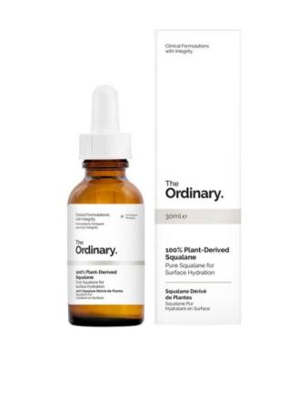 Olje & Serum - Transparent The Ordinary 100% Plant Derived Squalane 30ml