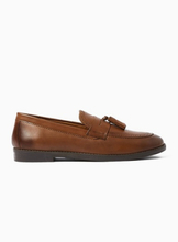 Tan Leather Carver Loafers