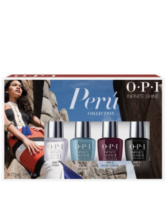 Neglelakk - Flerfarget OPI Peru Collection Mini Pack