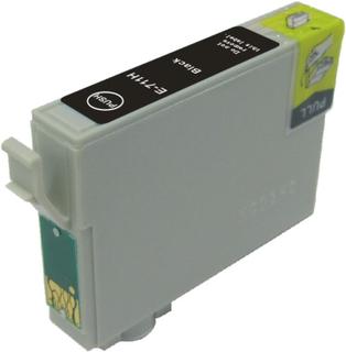 Epson T0711H Sort kompatibel blækpatron (18,2 ml)