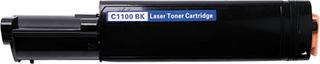 Epson C1100 BK ( SO50190) Lasertoner, sort, kompatibel
