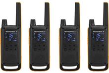 Motorola T82 Extreme QUAD Talkabout Walkie Talkie