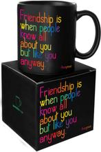 Quotable Mug Friendship is...