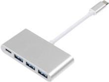 eStore USB-C USB-C:hen ja 3x USB-A Adapter