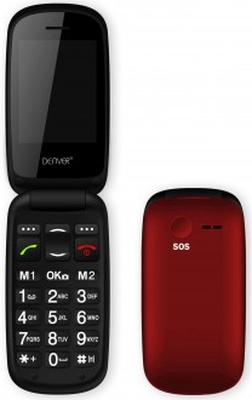 Denver GSM-telefon med flip-lock