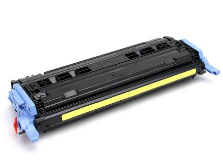 HP 124A (Q6002A) Lasertoner, Gul, kompatibel (2000 sider)