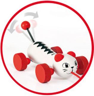 30187 Dragleksak Katt