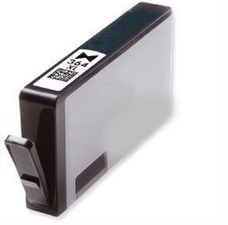 HP 364 XL PBK (CB322EE) foto sort kompatibel blækpatron 15 ml