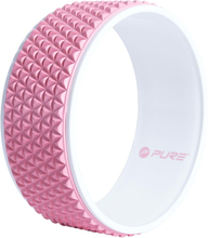 Pure2Improve Yogahjul 34 cm rosa och vit