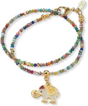Armband karabijnsluiting Van Juwelenkind multicolour